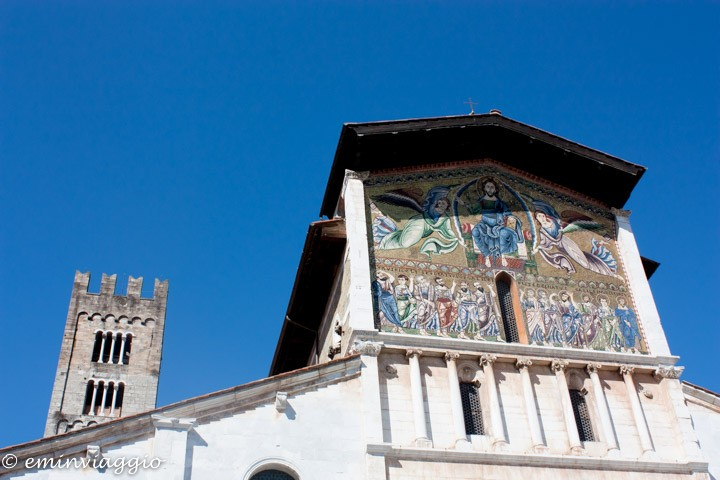Lucca, S. Frediano, mosaico