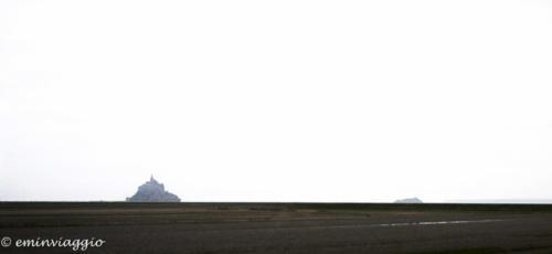 Mont Saint Michel da lontano