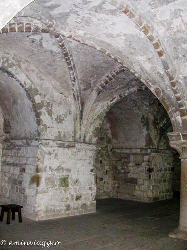 Mont Saint Michel particolare dell'Abbazia