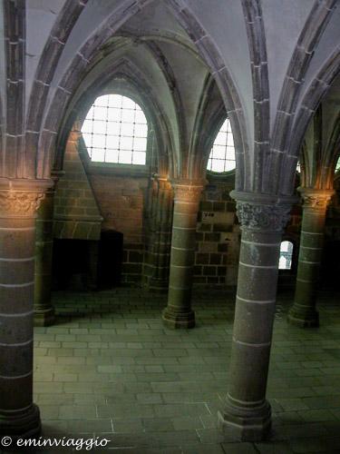 Mont Saint Michel l'Abbazia benedettina