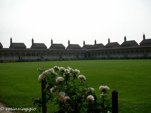 Certosa di Pavia chiostro grande le casette dei monaci