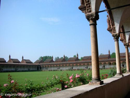 Certosa di Pavia chiostro grande