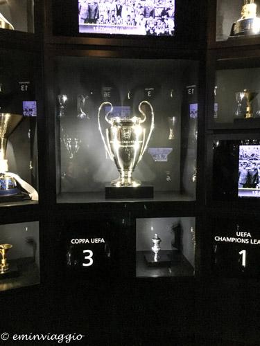 Juventus Stadium sala delle coppe