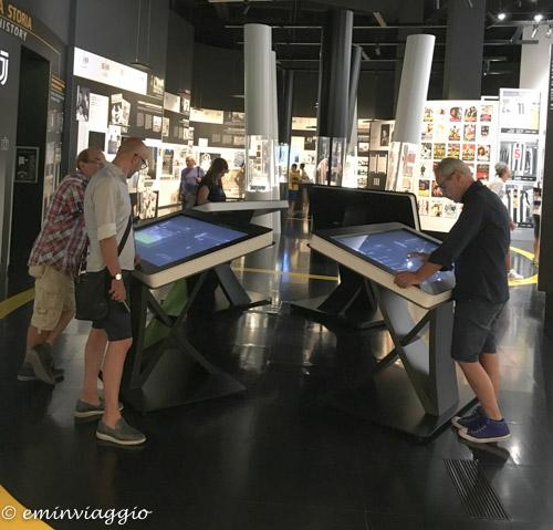 Juventus Stadium area interattiva