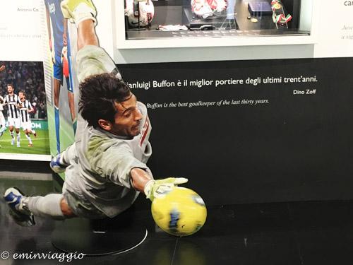 Juventus Stadium il mitico Buffon