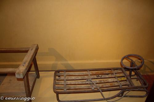 San Benedetto Po Museo slittino di un tempo