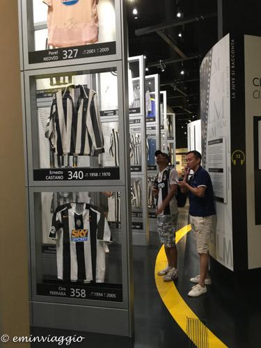 Juventus Stadium le maglie
