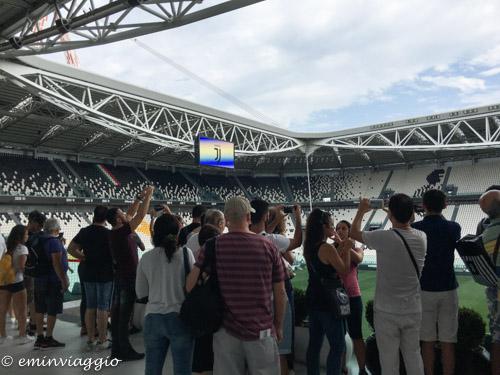 Juventus Stadium l'interno