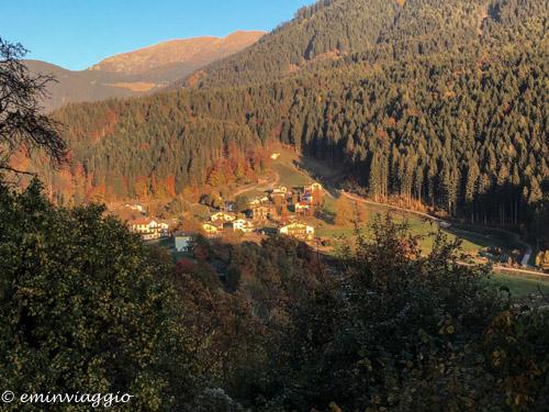 Il foliage in Trentino fra i mille colori dell'autunno