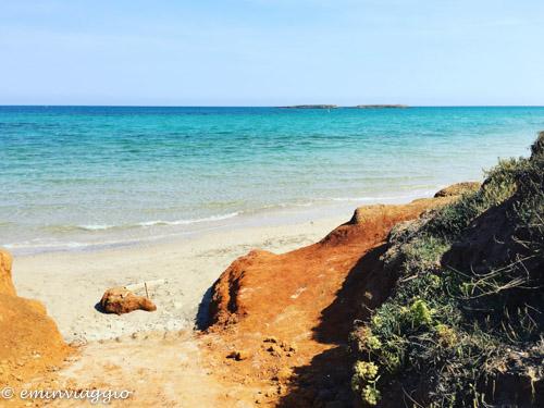 Alto Salento spiaggia delle conchiglie