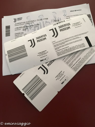 Juventus Stadium i biglietti