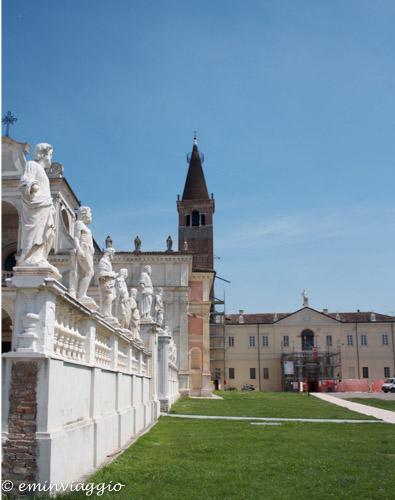 San Benedetto Po Chiesa Abbaziale particolare