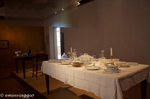 San Benedetto Po Museo raffigurazione dell'interno di una casa