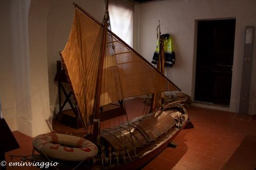 San Benedetto Po modello di un'antica imbarcazione