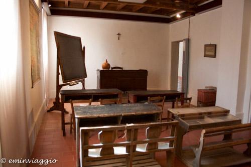 San Benedetto Po Museo ricostruzione di una classe