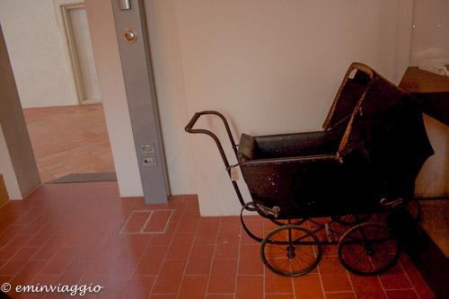San Benedetto Po Museo carrozzina di un tempo