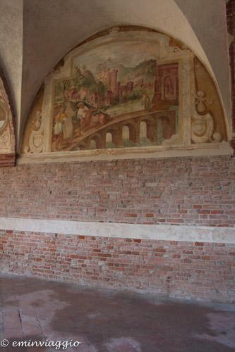 San Benedetto Po affreschi