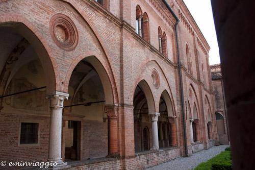 San Benedetto Po un chiostro