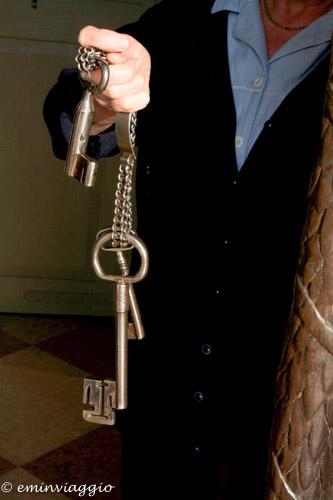 San Benedetto Po le chiavi che ha usato la guida